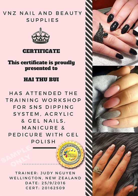 Best Acrylic Gel Nail and SNS Training in Wellington