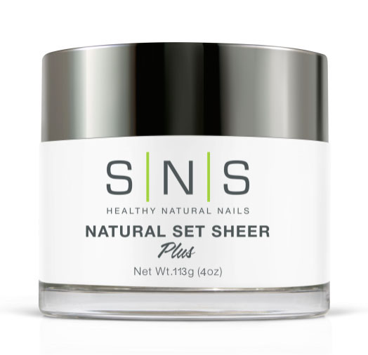 SNS Natural Set Sheer 4 oz