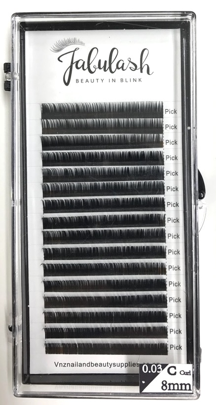 Fabulash Eyelash 0.03 C 8mm