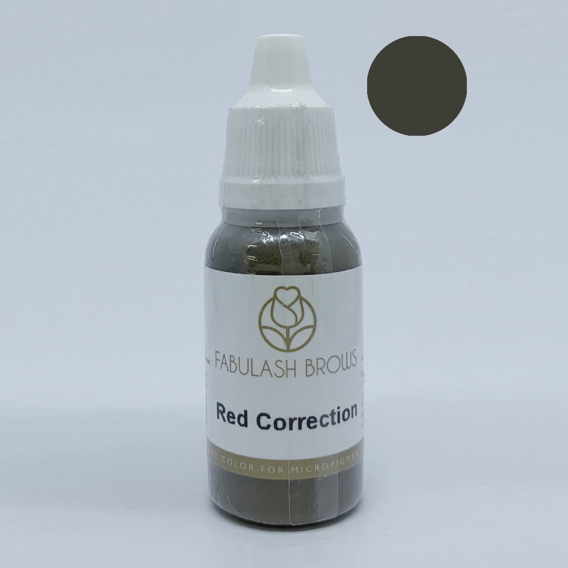 Fabulash Brows Pigment 15ml_Red Correction