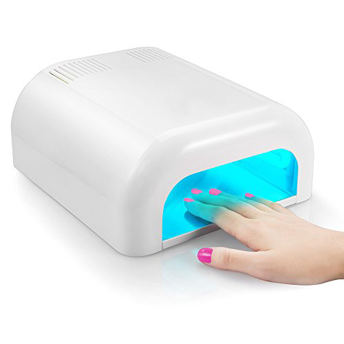 Gel Curing UV Lamp - single with built in fan and timer
