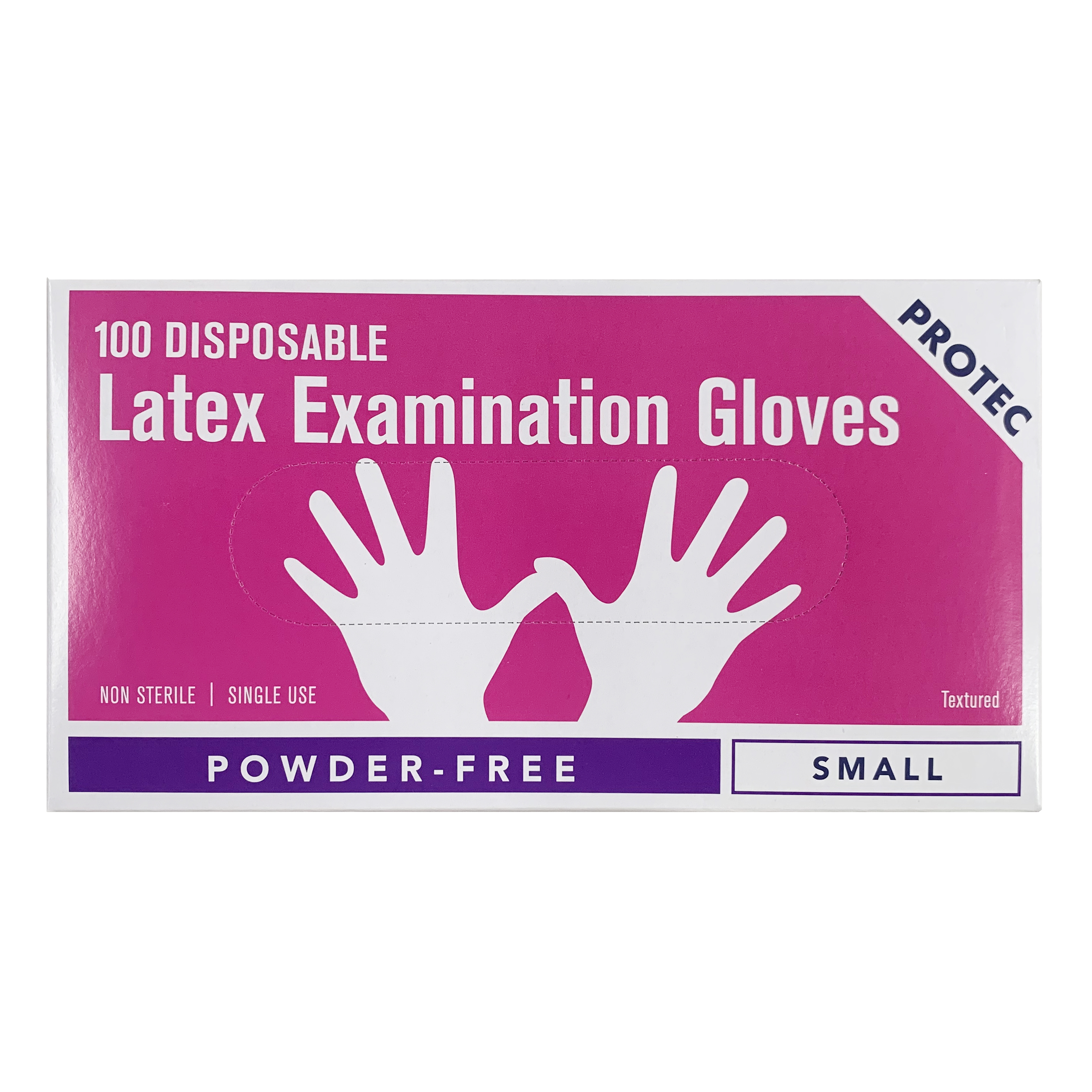 Latex Gloves size S - Carton of 10