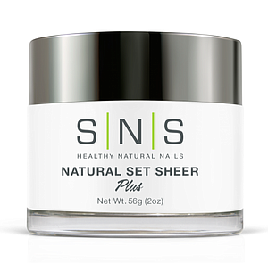 SNS Natural Set Sheer 2 oz