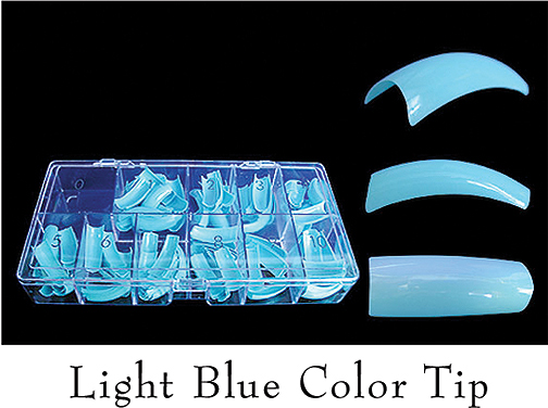 Colour Tips Light Blue - 250 tips