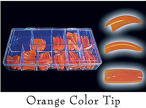 Colour Tips Orange - 250 tips