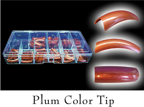 Colour Tips Plum - 250 tips