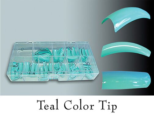 Colour Tips Teal - 250 tips