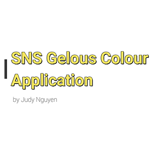 SNS Gelous Colour Application Guide