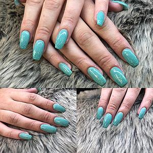How To do Ombre nail extensions with SNS